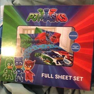 Pj masks new full sheet set